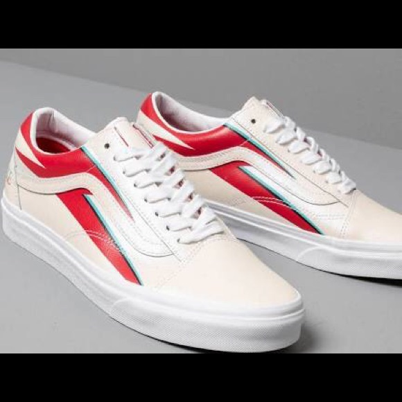 VANS x DAVID BOWIE (DB) OLD SKOOL ALADDIN SANE SKATE SHOES MINT MENS SZ 10 NEW⚡